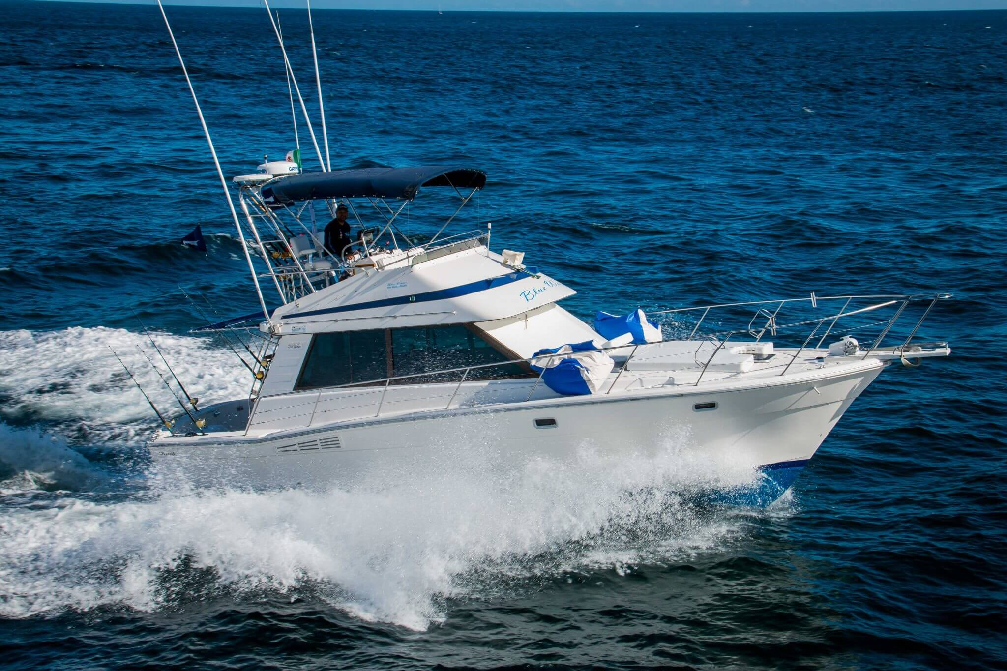 Blue Water – 35 Foot Riviera